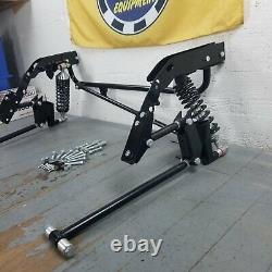 1968-1974 Chevy Nova Bolt-On Adjustable Rear 4-Link Kit with 230lbs Coilovers GM