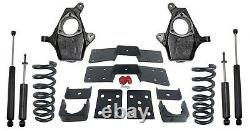 1999-06 Chevy GMC 1500 4 Front 6 Rear Suspension Lowering Drop Kit V8 Only