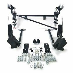 67-69 Chevy Camaro SS Z28 Bolt-On Adjustable Rear 4-Link Kit with 300lb Coilovers