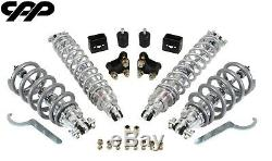 68-72 Chevy Chevelle Coilover Conversion Kit Viking 350lb Double Adjustable F/R