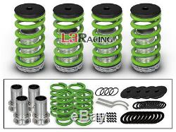 95-99 Mitsubishi Eclipse COILOVER LOWERING COIL SPRINGS KIT GREEN
