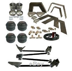 99-06 Silverado Front Rear Weld on Kit Notch Triangulate 4 Link airmaxxx Air Bag