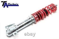 Adjustable Coilover Suspension Kit For Fiat Seicento type 187 + camber plate
