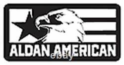 Aldan American Steel Shock Adjustable Coilover Kit For 2005-2013 Chevy Corvette