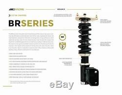 BC Racing Adjustable Coilovers Kit BR Type For 2008-2014 Mitsubishi Lancer EVO X