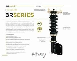 BC Racing BR Series Adjustable Coilover Shock Spring Kit for 2014+ Acura MDX