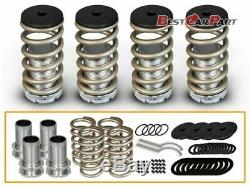 BCP Gold 90-97 Honda Accord Adjustable Lowering Coilover Coil Spring Kit