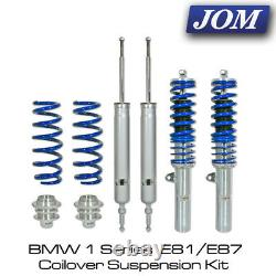 BMW 1 Series E81/E87 2004-2010 JOM Blueline Coilover Suspension Kit 741026