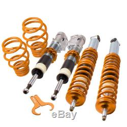 COILOVERS ADJUSTABLE Struts LOWERING SPRINGS KIT FOR VW POLO 6N 6N2 99-02