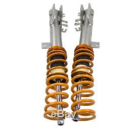 Coilover Suspension Kit For Fiat 500 1.4 Abarth 2008-2012 Adjustable Shock Strut