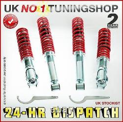 Coilover Vw Golf Mk1 Gti Adjustable Suspension Kit- Coilovers, New