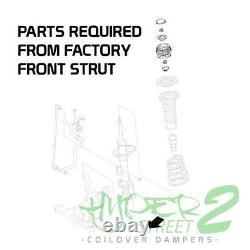 Coilovers For 06-11 TOYOTA YARIS Suspension Kit Adjustable Damping Height