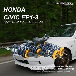 Coilovers Kit For Honda CIVIC Ep1 Ep2 Ep3 Typer Vtec Fully Adjustable Suspension
