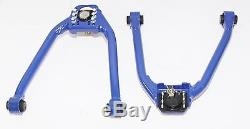 Emusa Front Adjustable Upper Camber Kit For 350z G35 Blue