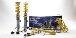 FK AK Street Coilover adjustable Suspension Kit Seat Ibiza 6J (08-) 1.2 1.4 1.6