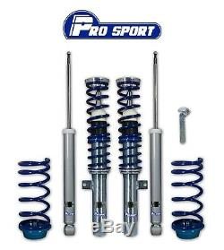 FORD FOCUS MK1 incl ST170 COILOVERS ADJUSTABLE SUSPENSION LOWERING SPRINGS KIT