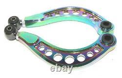 Fit 06-10 HONDA CIVIC DX LX EX SI ADJUSTABLE REAR CAMBER CONTROL ARM KIT Rainbow