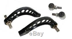 Fit 06-13 Honda CIVIC DX LX Ex Si Adjustable Rear Camber Control Arms Kit Black