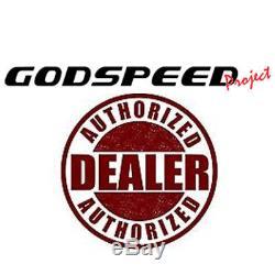 For 06-11 BMW E90 E91 E92 Godspeed MonoMaXX Coilover Camber Plate Kit Suspension