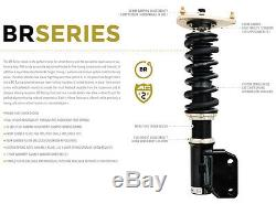 For 08-15 Audi R8 BC Racing BR Series Adjustable Suspension Damper Coilovers Kit