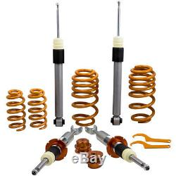 For AUDI A4 8E B6 (B7 Facelift) year 00-08 Adjustable Coilover F/R Spring Kit