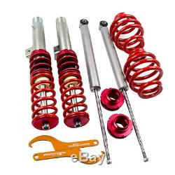 For BMW E46 3-Series Models Only Coilover Suspension Kit Coil Spring Over Strut