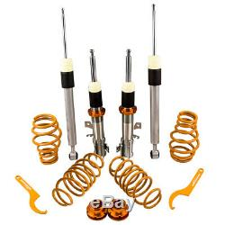 For Ford Fiesta MK7 JA8 1.25 1.6 TDCI ST180 Height Adjustable Coilovers CoilOver