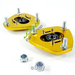 For Honda Civic EM2 EP3 Adjustable Suspension Coilover Front Top Mount Plate Kit