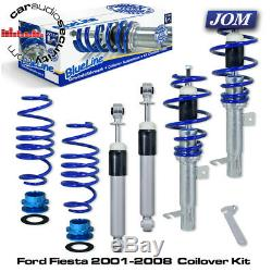 Ford Fiesta Mk6 2001-2008 1.2,1.3,1.4,1.6, TDCi Coilover Suspension Kit 741108
