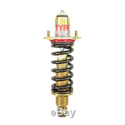 Function & Form For 90-97 Honda Accord Type 1 Height Adjustable Coilover Kit