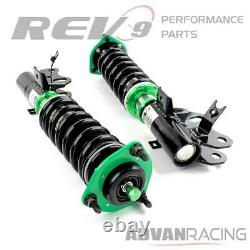 Hyper-Street ONE Lowering Kit Adjustable Coilovers For Honda Civic Si 14-15