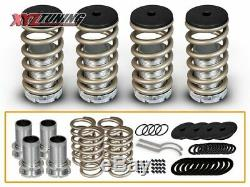 JDM GOLD Lowering Adjustable Coilover Springs For 90-07 Accord/92-96 Prelude
