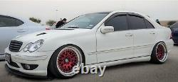 JOM Adjustable Coilover Suspension Lowering Kit For Mercedes Benz C Class W203