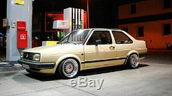 JOM VW Golf Jetta MK2 2 Euro Height Adjustable Coilover Suspension Lowering Kit