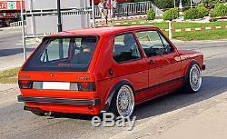 JOM VW Rabbit Golf MK1 I Euro Height Adjustable Coilover Suspension Lowering Kit