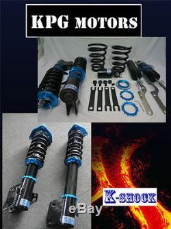 K Shock Full Adjustable Coilover Damper Kit Suspension Holden Commodore Vz VX