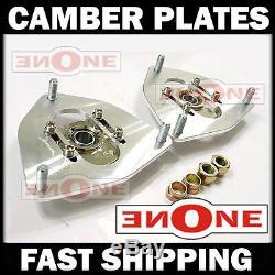 MK1 Adjustable Camber Kit Plates Strut Mounts For Coilover Kits Tiburon