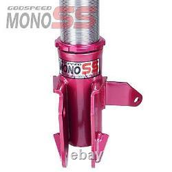 MonoSS Coilover Lowering Kit ADJUSTABLE Damping For MAZDA PROTEGE5 01-03