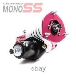 MonoSS Coilover Lowering Kit ADJUSTABLE Damping For TOYOTA COROLLA 03-08