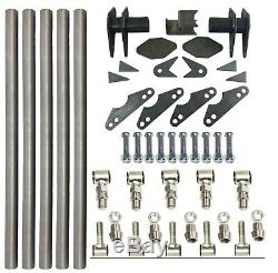 Parallel 4 Link Kit Universal Weld on Application 1.25 x 30 Bars LH and RH End