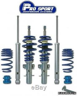Prosport Ford Fiesta Mk6 all inc ST150 01-08 Coilover Lowering Suspension Kit