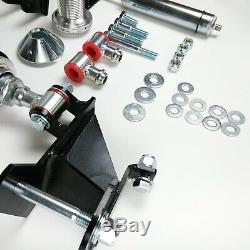 Rear Coil Over Kit Single Adjustable Shocks & 250 Springs