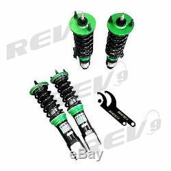 Rev9 Hyper-Street Coilovers Kit For Honda Civic 92-95 EG Twin-Tube Adjustable