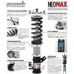 SILVER'S NEO MAX Coilover Adjustable Suspension KIT fit Toyota corolla AE92