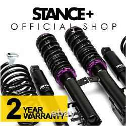 Stance+ Street Coilovers Fiat 500 Hatchback Cabriolet inc Abarth (2007-2020)