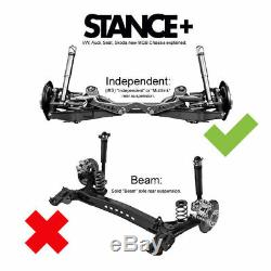 Stance+ Street Coilovers Kit Audi A3 8V 1.6 1.8 2.0 TFSi TDi Inc S3 Sportback