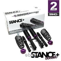 Stance+ Street Coilovers Suspension Kit Fiat Panda Mk2 169 1.1 1.2 1.3 1.4 03-12