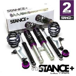 Stance+ Ultra Coilovers Suspension Kit BMW 3 Series E46 Saloon & Coupe (Diesels)