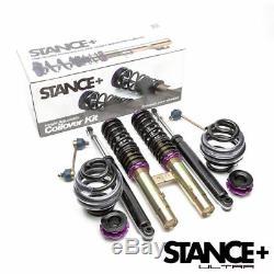 Stance+ Ultra Coilovers Suspension Kit BMW E46 Cabriolet 320Ci, 323Ci, 325Ci, 330Ci