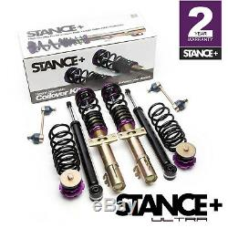 Stance+ Ultra Coilovers Suspension Kit Skoda Fabia (5J) (All Engines)